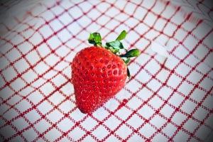 Lone Strawberry